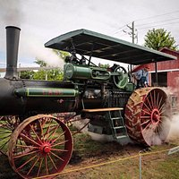 Steam engine from the 1800s