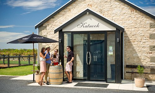Katnook's historic limestone Cellar Door where a warm welcome awaits you.