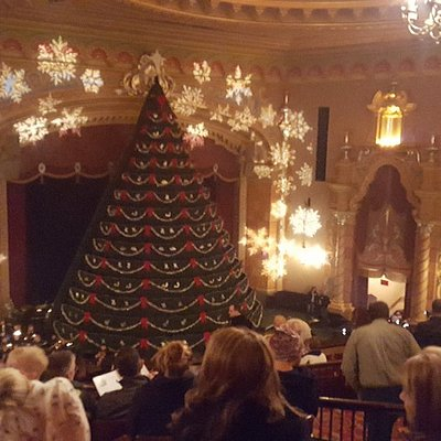 Singing Christmas Tree at the Frauenthal