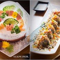 Ice Dome Sashimi Special