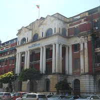 Yangon, il Central Post Office