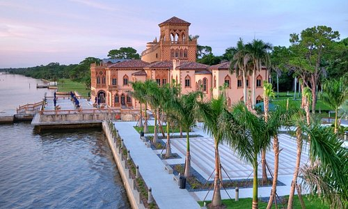 Historic Ca' d'Zan mansion at The Ringling