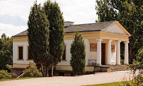 Das Römische Haus im Park an der Ilm