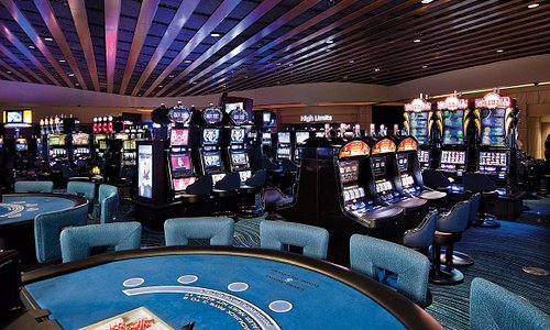 Slot machines and table games