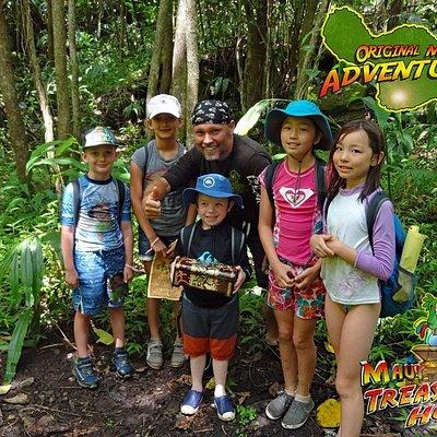 Maui Treasure Hunt adventure - best family adventure on Maui
