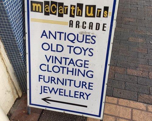 Macarthur's Arcade.