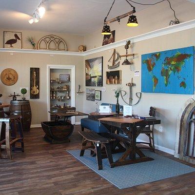Inside Barrel-Art's Showroom