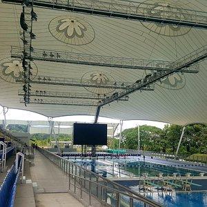 National Aquatic Centre (interior)