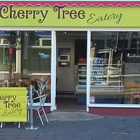 Outside Cherry Tree Eatery