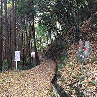 生駒の基点から法隆寺まで縦走