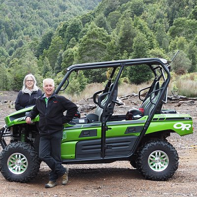 Paul, Linda and the awesome Green Machine at Magnet Mine