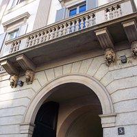 ingresso e balcone