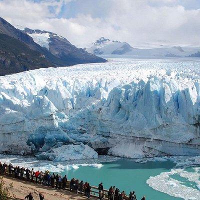 El hermoso glaciar Perito Moreno