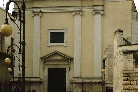 Facciata della Chiesa della Madonna dell'Altomare