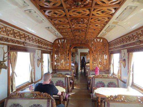 Mongolian Restaurant Car