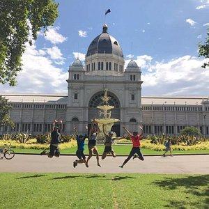 Bike Tour - Royal Exhibition building