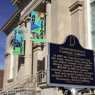 Carnegie Museum, Crawfordsville
