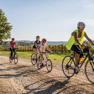 Enjoy biking in Tuscany with your Family!