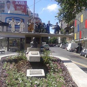 Monumento a Osvaldo Pugliese- Villa Crespo- Bs.As. 2017.