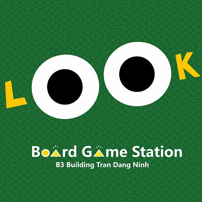 LOOK - Board Game Station LOGO