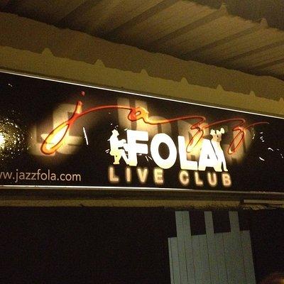 Enseigne & Logo Jazz Fola