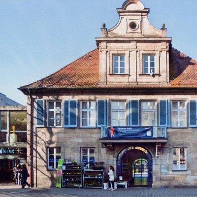 Außenansicht Kunstmuseum Erlangen
