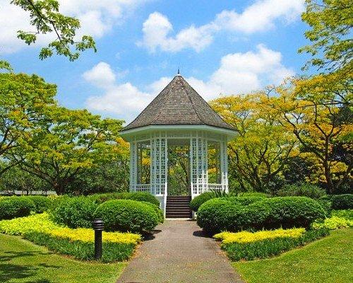 Beautiful Botanic Gardens of Singapore