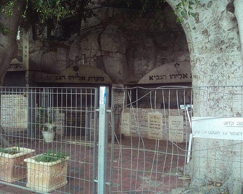 Elijah's Cave area