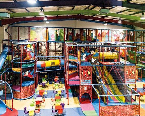 4 Storeys of Fun! Adventure World at Kidabulous Soft Play Centre in Sunbury