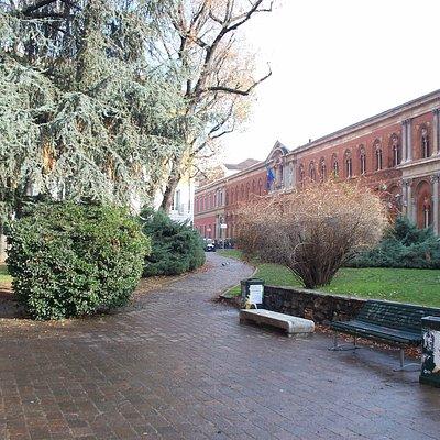 giardino ed ex-Ospedale Maggiore