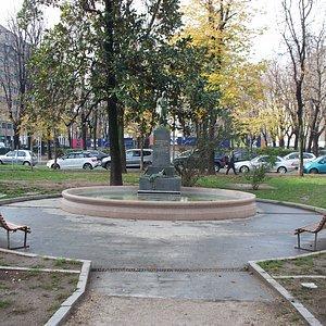spazio con la fontana