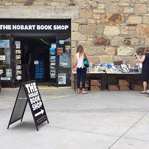 Hobart Book Shop.