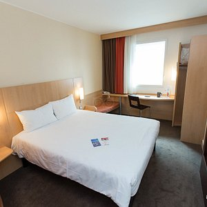 The Double Standard Room at the Ibis Lugano Paradiso