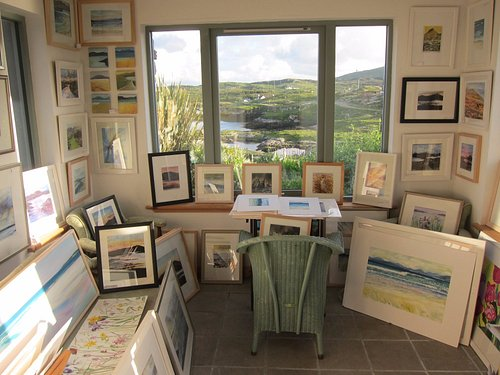 View to Finsbay from Holmasaig Gallery Isle of Harris