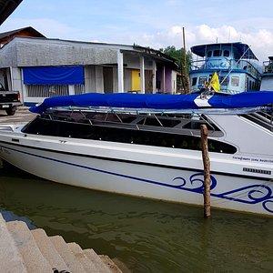 Ranong ferry to Ko Phayam