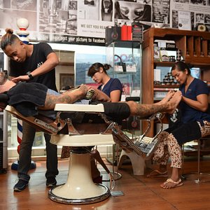 Ultimate Barber Service - Haircuts, Shaves, Beards, Nails, Skin, Massage, Chill - Bali's Mancave