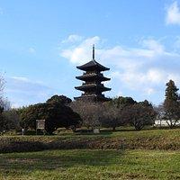 五重塔はホント美しいです。
