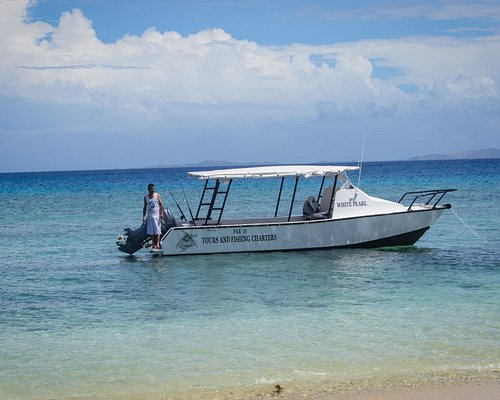 Our Boat has the capacity of 18 people. Travel in groups, or charter the boat for your self.