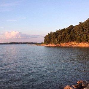 Lake Lenier's Peaceful Sunset