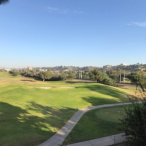 This is 2nd green and 4th tee at Friars from my condo..Excellent course for the money even thoug