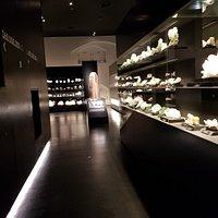 A corridor inside the Museum