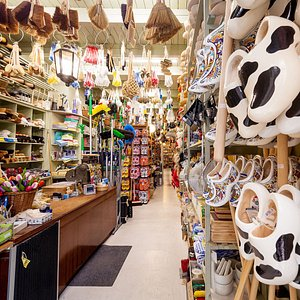 For almost 200 years the Boom family has sold wooden clogs, brushes, household products and rope