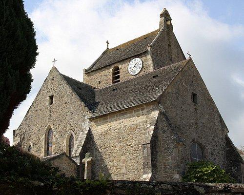 Eglise Saint-Jean-Baptiste   Omonville-la-Rogue, Manche, Normandie, France