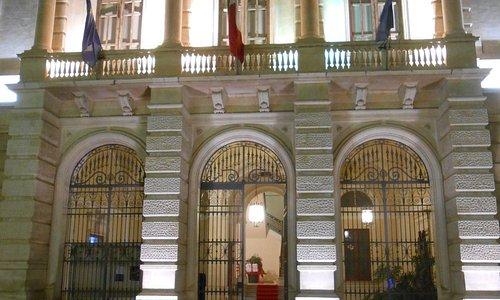 parte centrale della facciata