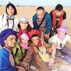 china in the sahara desert