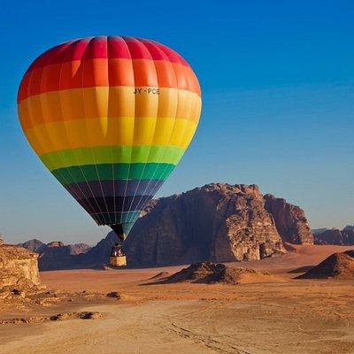 We offer balloon flights