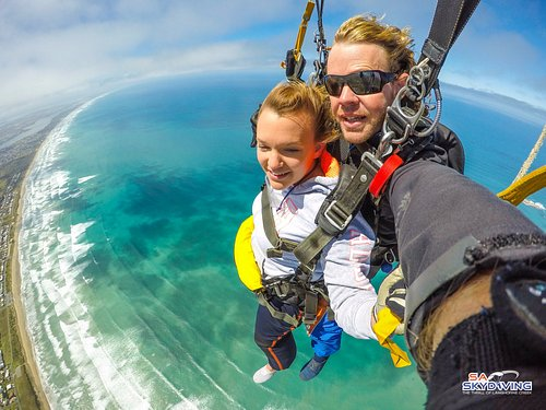 Basham's Beach - Adelaide's most stunning skydive