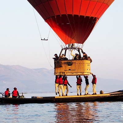 An unforgettable Lake landing