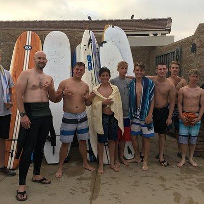 San Clemente Surfboard Rentals @369SURF shop T-Street Beach Local SC Boys
