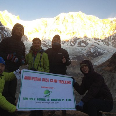 Annapurna Base Camp Trekking with Aim Way Tours and Travel Agency